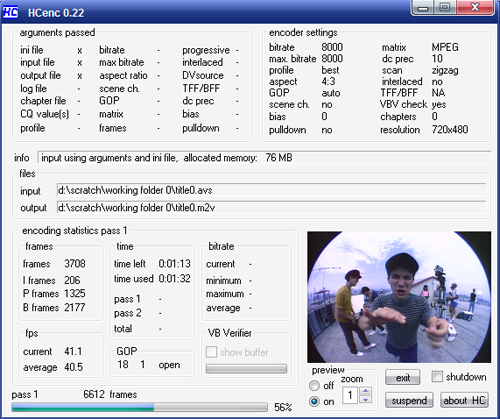 FAVC Encoding