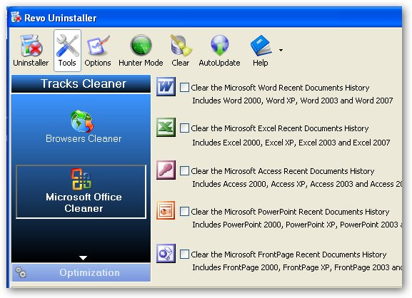 Revo Uninstaller Cleaner Programs