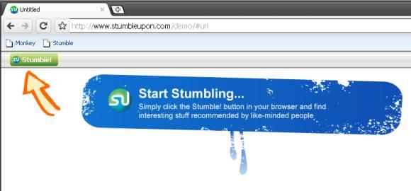 Stumblepon on Chrome