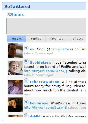 twitter gadget for igoogle