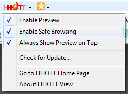 Enabling the Safe Browsing feature