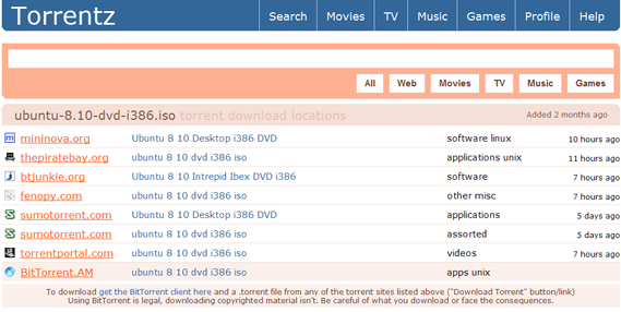 Tornado.li - Free Torrent Search Engine - Easy and Safe