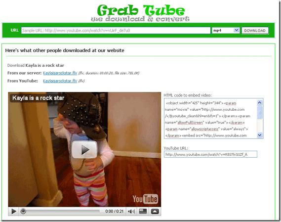 GrabTube3