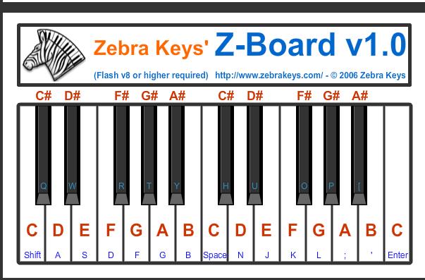 zebrakeys keyboard