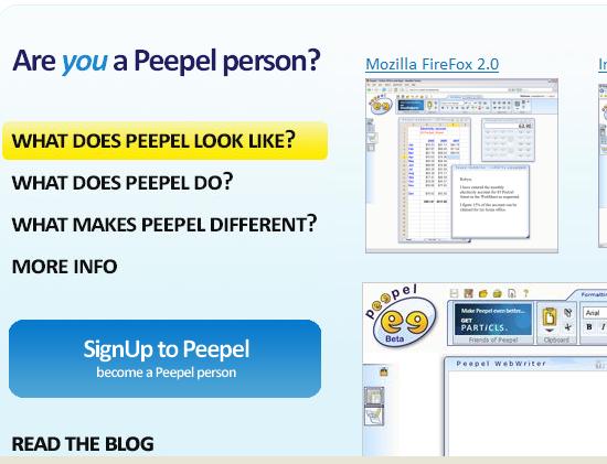Peepel Home Online Office Suite