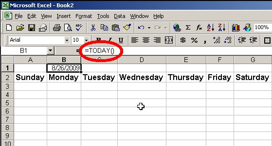 Cjkent Online: How To Make A Calendar Template In Excel