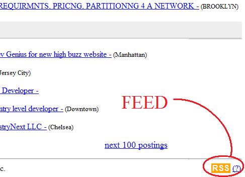 igoogle - feed