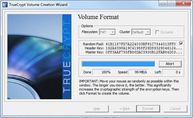 volume format 2
