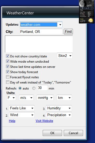 widgets free  for windows 7