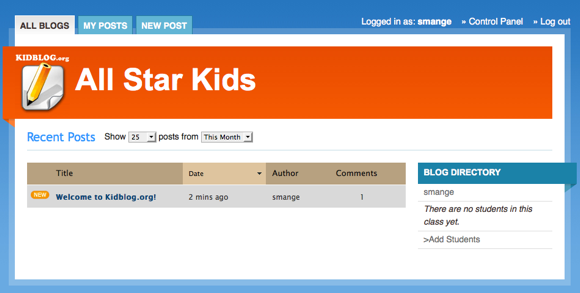 blogs for kids