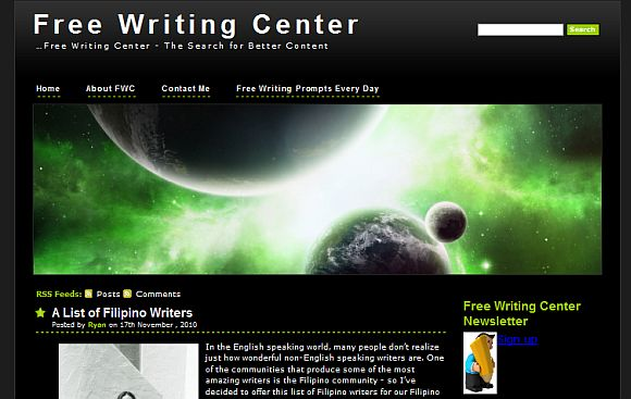 writing center newsletter