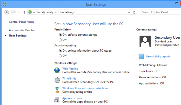 windows 8 family safety   8 Features Missing in Windows 8 and How To Get Them Back