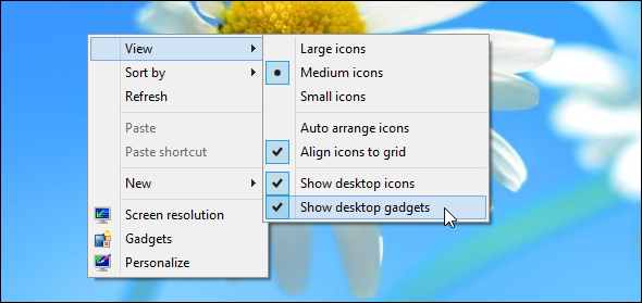 desktop gadgets on windows 8   Miss Gadgets & Widgets On Windows 8? Heres How You Can Get Them Back