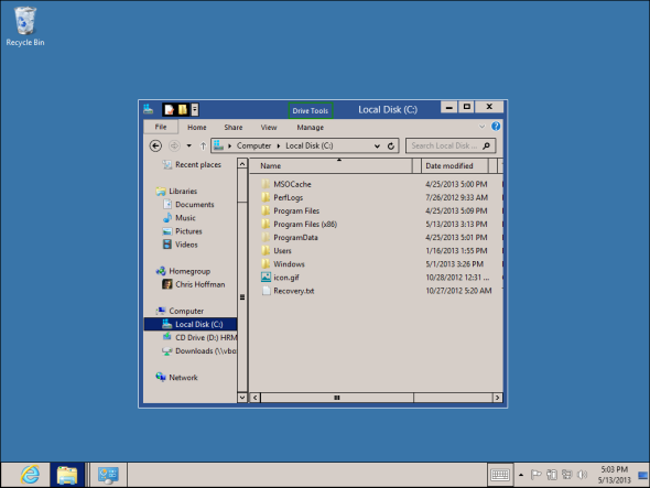 windows classic theme for windows 8   8 Features Missing in Windows 8 and How To Get Them Back