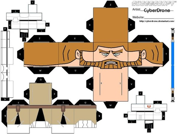 15 Star Wars Cubeecraft Paper Toy Models You Will Also Want To Make! star wars cubeecraft 1
