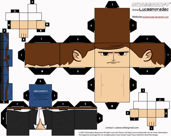 15 Star Wars Cubeecraft Paper Toy Models You Will Also Want To Make! star wars cubeecraft 13
