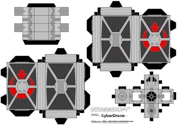 15 Star Wars Cubeecraft Paper Toy Models You Will Also Want To Make! star wars cubeecraft 16