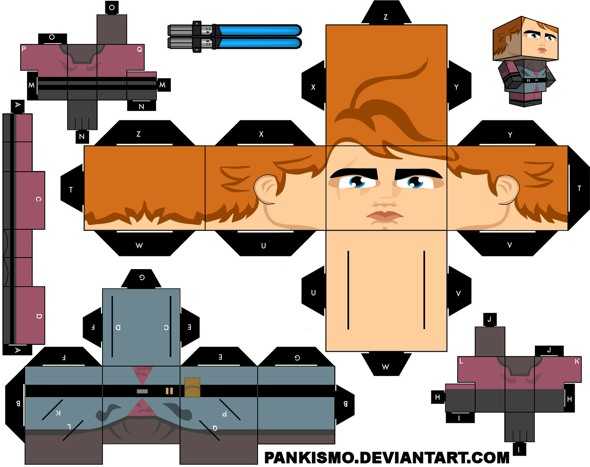 15 Star Wars Cubeecraft Paper Toy Models You Will Also Want To Make! star wars cubeecraft 4