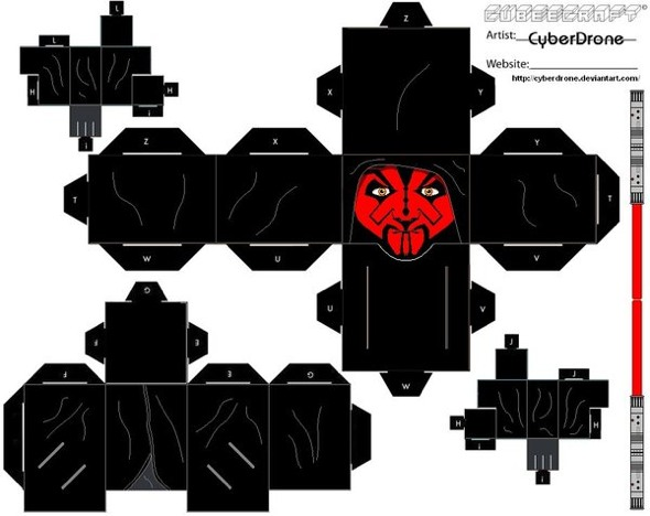 15 Star Wars Cubeecraft Paper Toy Models You Will Also Want To Make! star wars cubeecraft 5