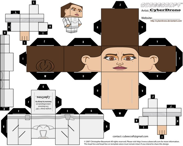 15 Star Wars Cubeecraft Paper Toy Models You Will Also Want To Make! star wars cubeecraft 9