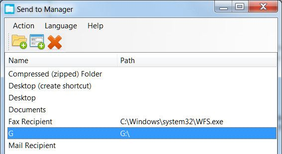 sendtomanager   10 Best Shortcuts To Add To Your Right Click Menu