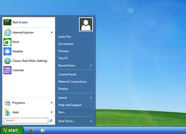 windows 8 like windows xp start   How To Make Windows 8 or 8.1 Look Like Windows 7 or XP