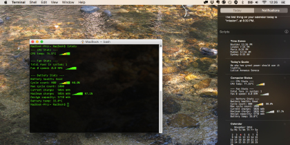 How To Add Absolutely Anything To Yosemite's Notification Center