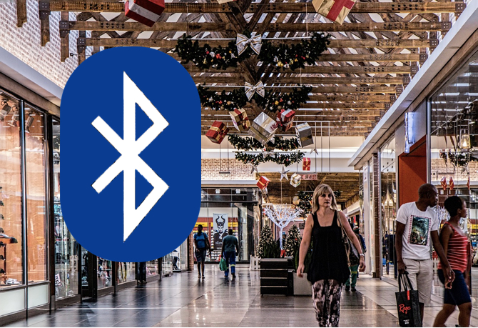 Bluetooth 5 Mall Bandwidth Advertiser