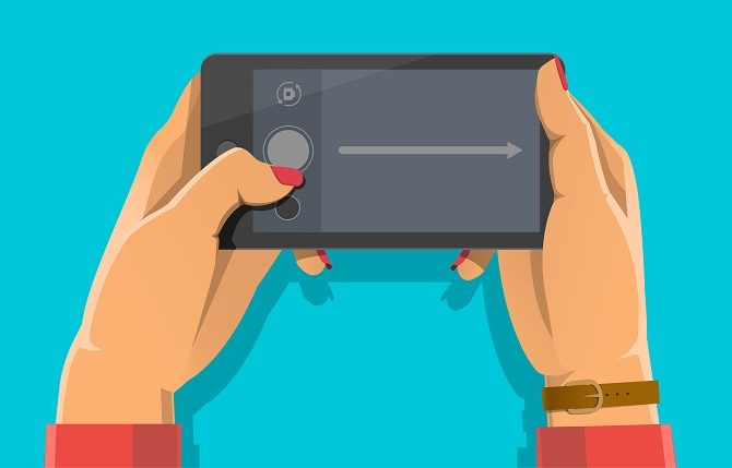android gesture swipe