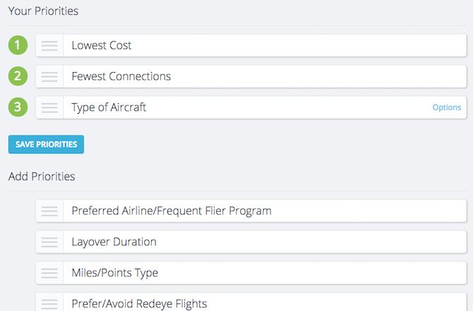 flights tripstreak travel