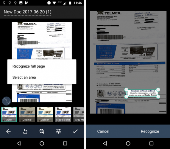 Phone Android Scan Camscanner Documents For On With Your Crackware –