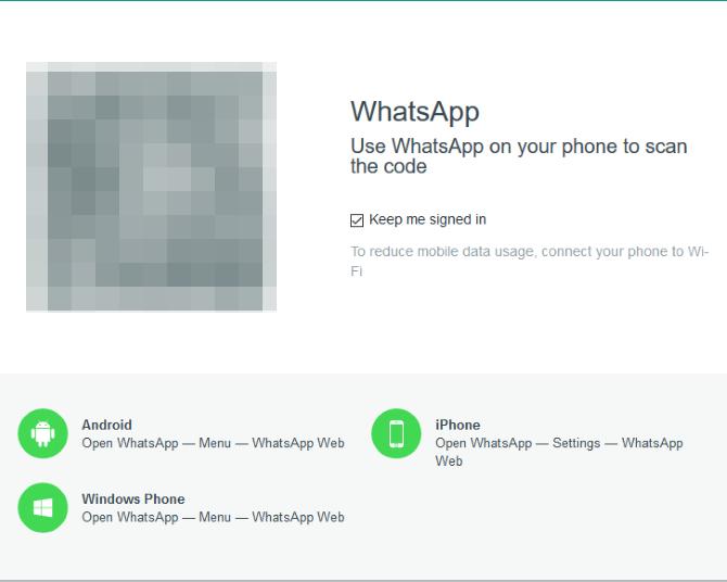 whatsapp web code