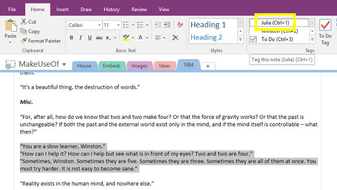 Turn OneNote Into Your Personal Cliff Notes Collection