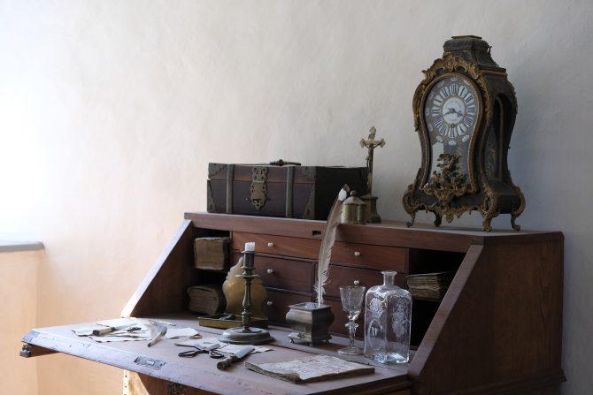 Compact Home Office Desks - secretary desk