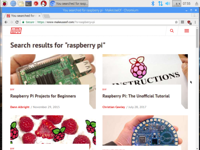 7 Tips for Using a Raspberry Pi 3 as a Desktop PC with Raspbian