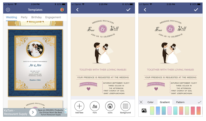 Create The Perfect Wedding Invitation Using These Phone Apps Crackware