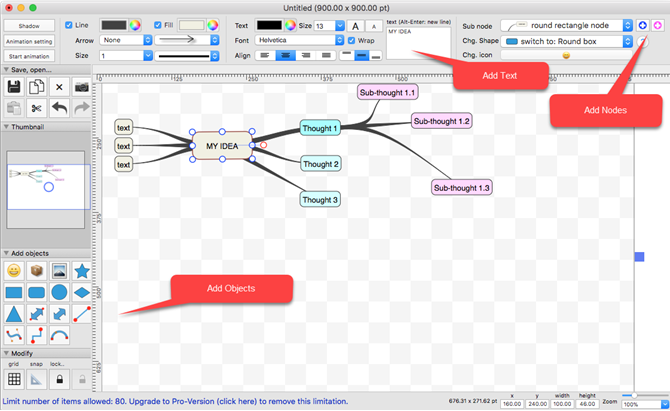 6 Free Mind Map Apps For Mac To Get Your Creative Juices Flowing
