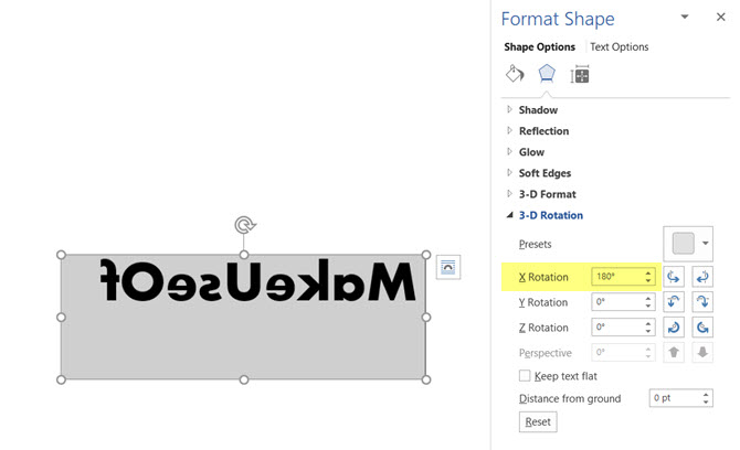How to Reverse or Mirror Text in Microsoft Word | MakeUseOf