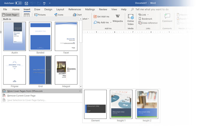 How To Make A Custom Cover Page In Microsoft Word Makeuseof