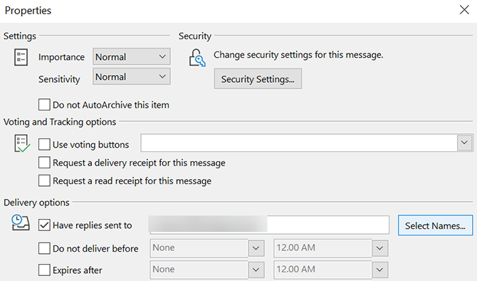 select reply to email in outlook