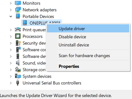 update android drivers
