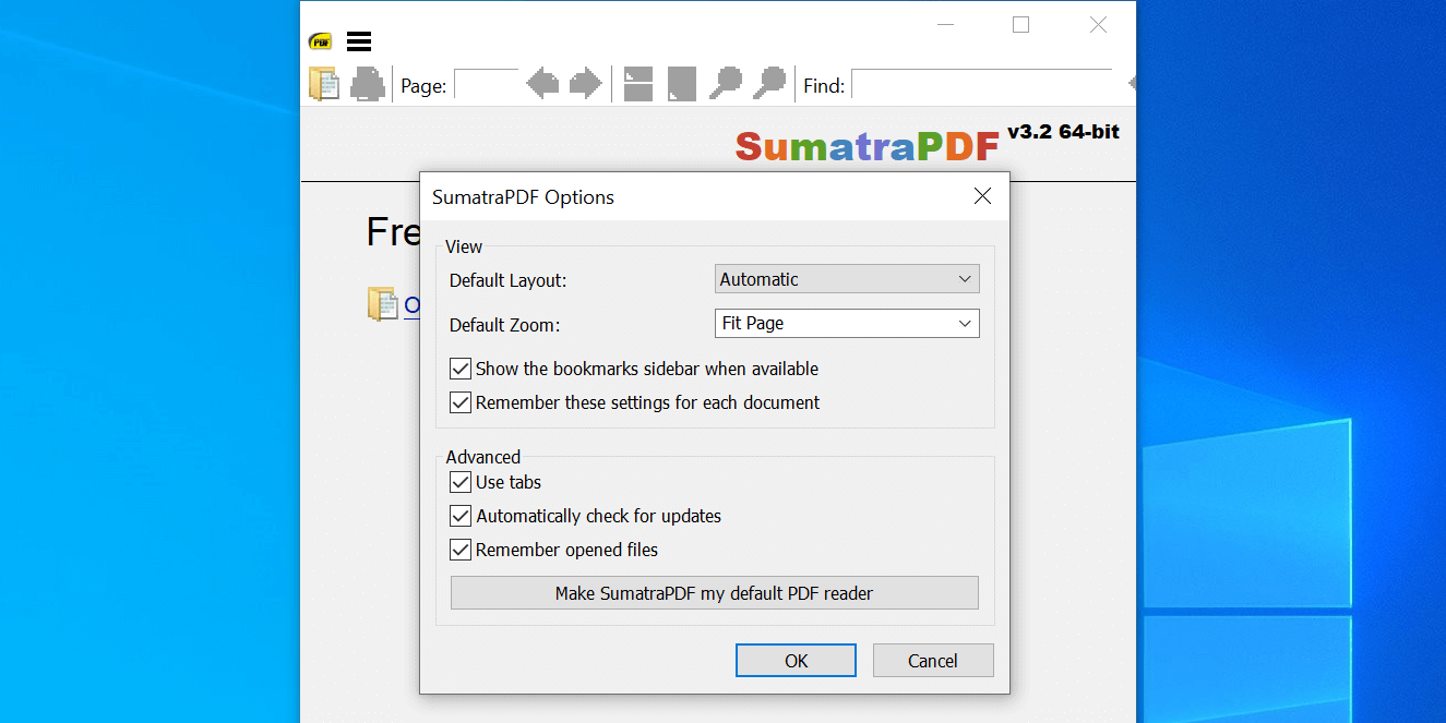 continue reading pdf sumatrapdf