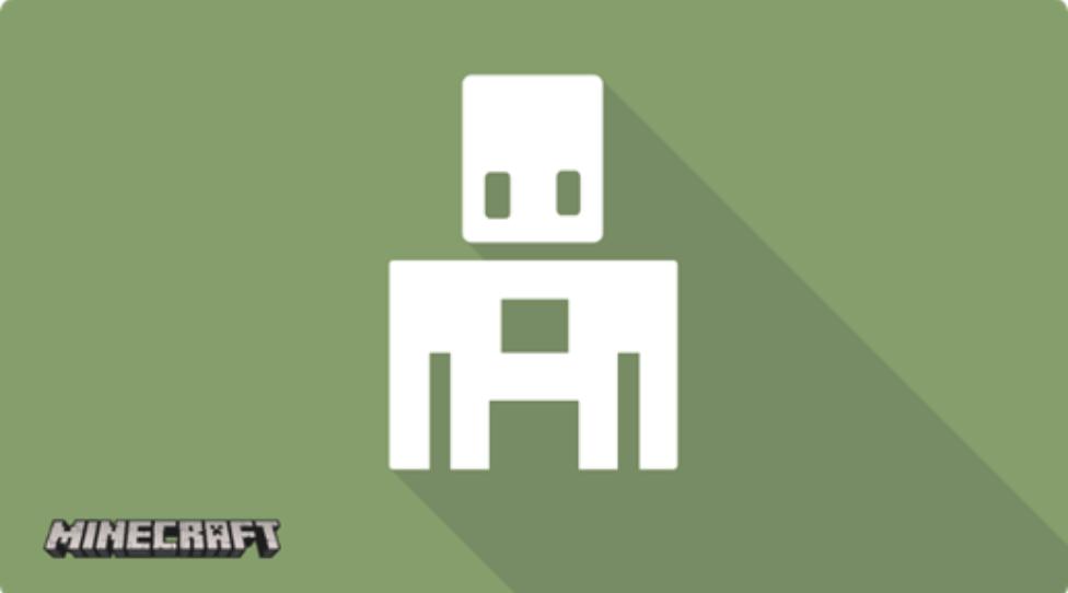 Logo Microsoft MakeCode Minecraft